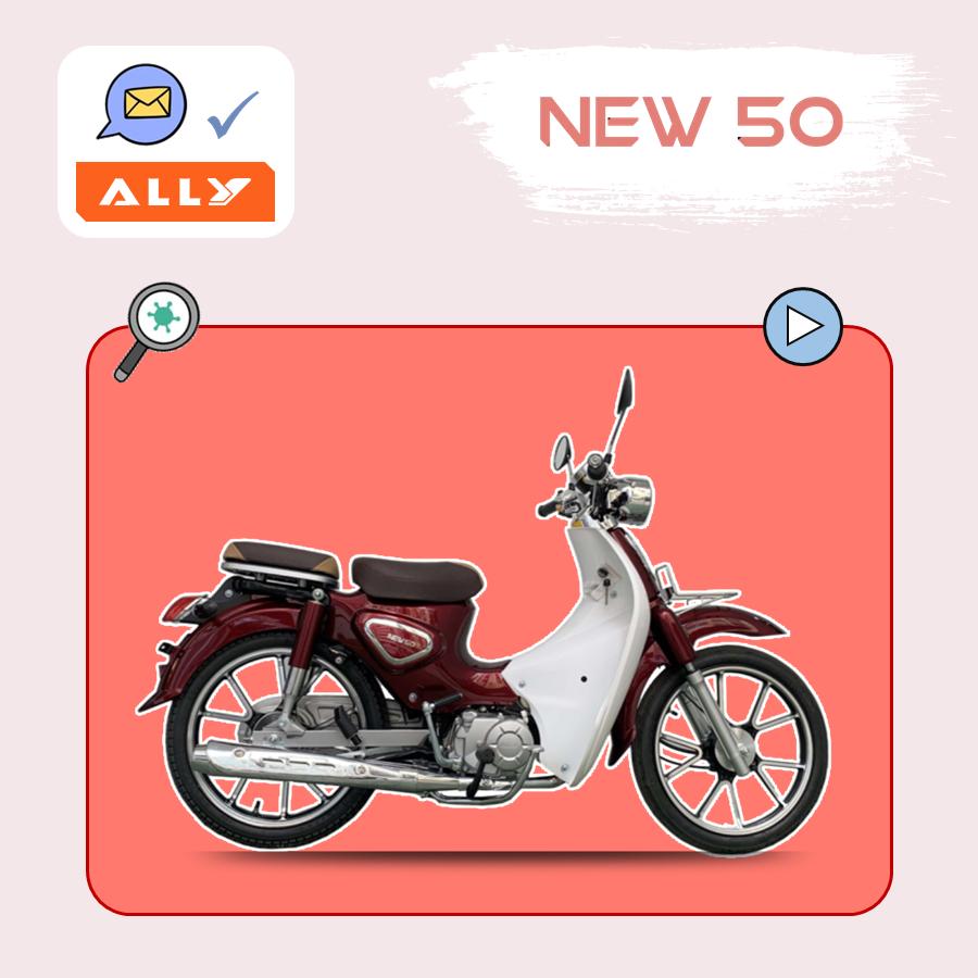 xe máy 50cc hãng ally