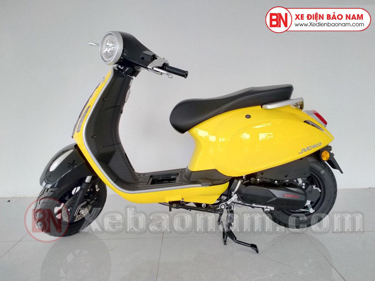 Xe Ga 50cc JVC Eco Màu Vàng