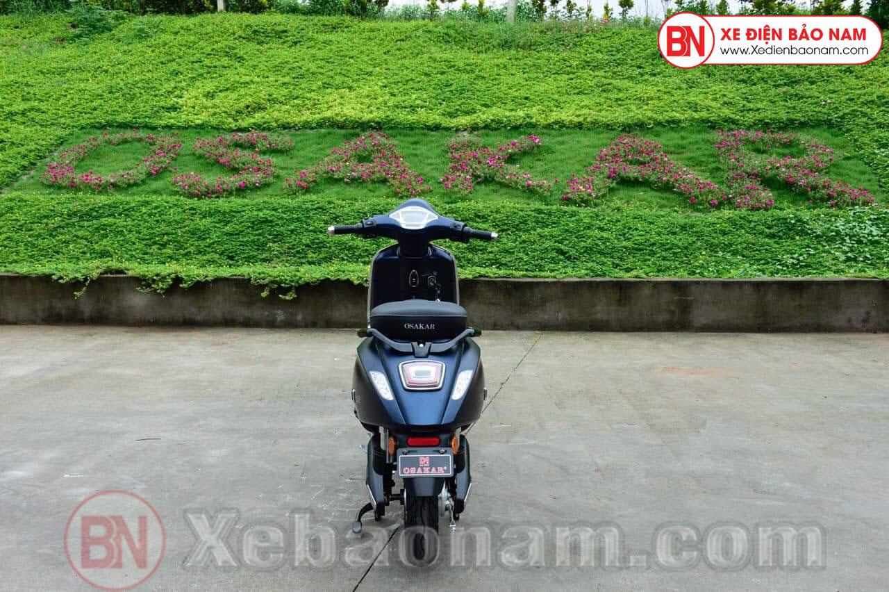 Xe máy điện Nispa SV Osakar màu xanh cửu long