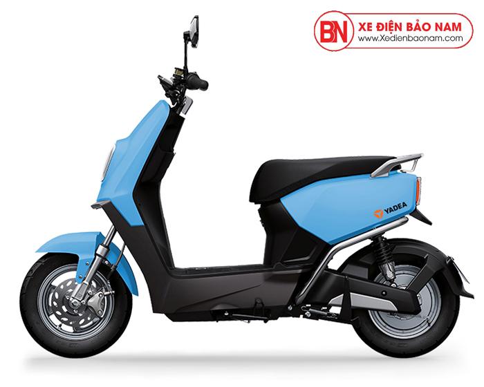 Xe máy điện Yadea E3 màu xanh