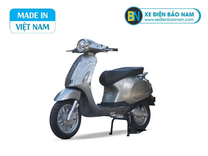 xe máy điện vespa lima xám bạc