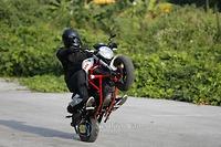 Sự mạnh mẽ ấn tượng của xe Ducati Mini Monster 110