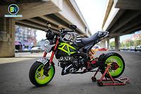 Xe máy Ducati Monster 110 độ kiểu dáng cực đẹp