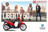 Xe Điện Bảo Nam phân phối xe ga 50cc Liberty Piaggio giá tốt nhất Việt Nam