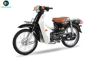 Xe Cub 50 JAPAN kiểu 81 MÀU ĐEN BÓNG