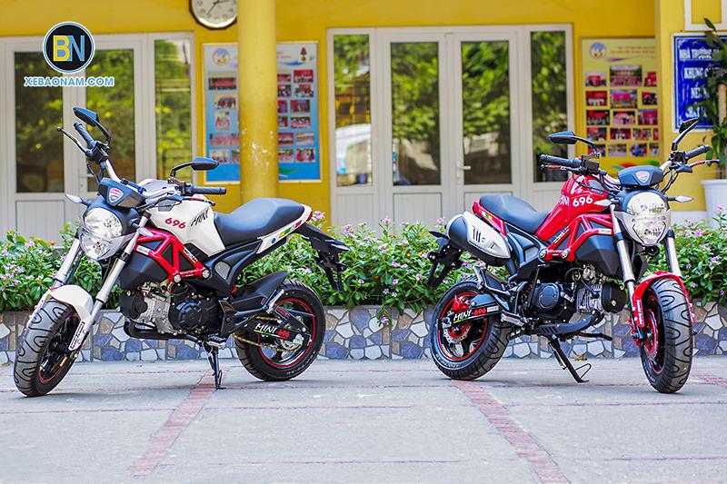 XE MÁY DUCATI MINI MONSTER 110 THAILAN