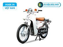 Xe Cub 81 Indo màu trắng