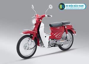 Xe Cub Classic 110cc Thái Lan màu đỏ