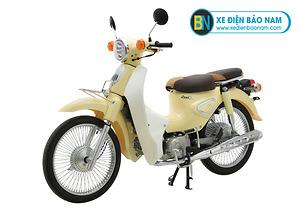 Xe Cub Classic New 50cc màu vàng kem