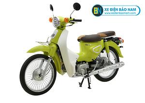 Xe Cub Classic New 50cc màu xanh lá mạ
