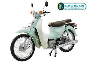 Xe Cub Classic New 50cc màu xanh ngọc