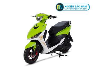 Xe ga 50cc S8 New City màu xanh lá cây trắng