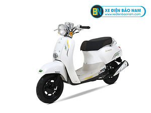 Xe ga 50cc Crea Scoopy màu trắng