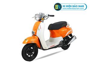 Xe ga 50cc Crea Scoopy màu vàng cam