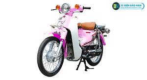 Xe Cub 81 Indo màu hồng