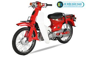 Xe Cub 82 màu đỏ