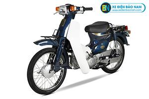 Xe Cub 82 màu xanh cửu long