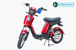 Xe đạp điện Nijia Avenger 2019 màu đỏ