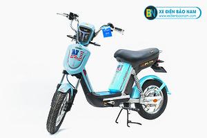 Xe đạp điện Nijia Avenger 2019 màu xanh ngọc
