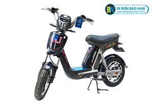 Xe đạp điện Nijia Avenger 2019 màu xanh tím than