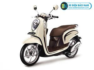 Xe ga 110cc Scoopy màu vàng