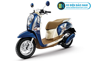 Xe ga 110cc Scoopy màu xanh dương
