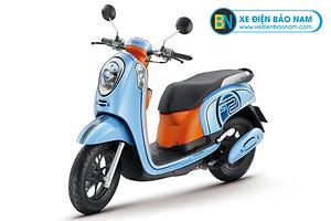 Xe ga 110cc Scoopy màu xanh ngọc