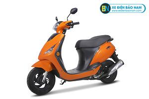 Xe ga Zip 50cc màu vàng cam