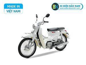 Xe Cub Classic 50cc màu trắng