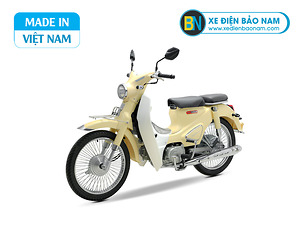 Xe Cub Classic 50cc màu vàng kem