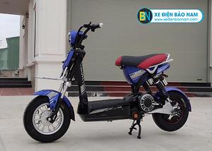 Xe đạp điện M133 S600 JVC màu xanh lam