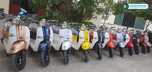 Xe ga 50cc Crea 2020 màu xanh cửu long