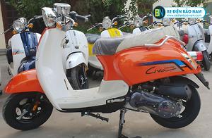 Xe ga 50cc Crea 2020 màu cam