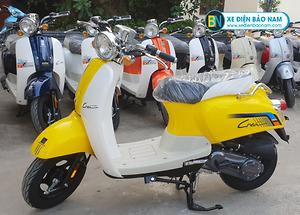 Xe ga 50cc Crea 2020 màu vàng