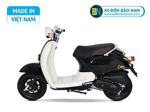 Xe ga 50cc Crea Scoopy màu đen bóng mới