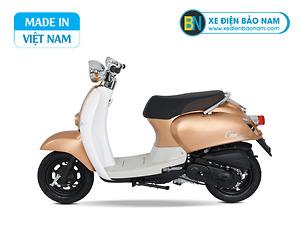 Xe ga 50cc Crea Scoopy màu đồng mới