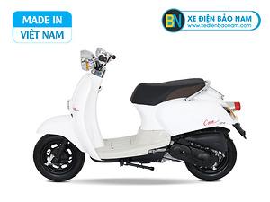 Xe ga 50cc Crea Scoopy màu trắng mới
