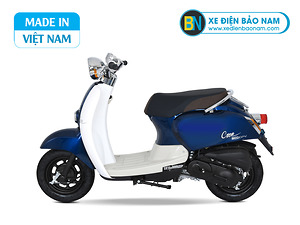 Xe ga 50cc Crea Scoopy màu xanh lam mới