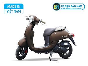 Xe ga 50cc Giorno Mono phanh đĩa màu nâu