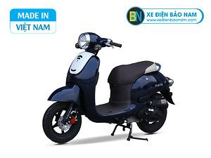 Xe ga 50cc Giorno Mono phanh đĩa màu xanh cửu long