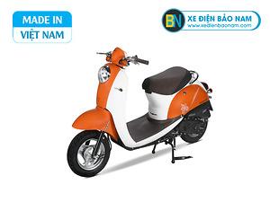 Xe ga 50cc Scoopy màu cam mới nhất 2021