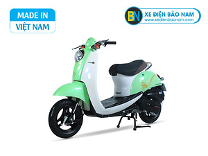 Xe ga 50cc Scoopy màu xanh ngọc đậm