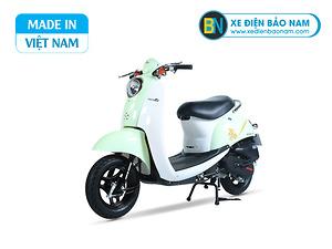 Xe ga 50cc Scoopy màu xanh ngọc nhạt