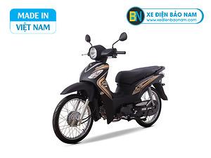 Xe máy Sym Angela 50cc màu vàng đen