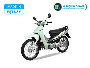 Xe máy Wave 50cc Việt Thái màu xanh ngọc