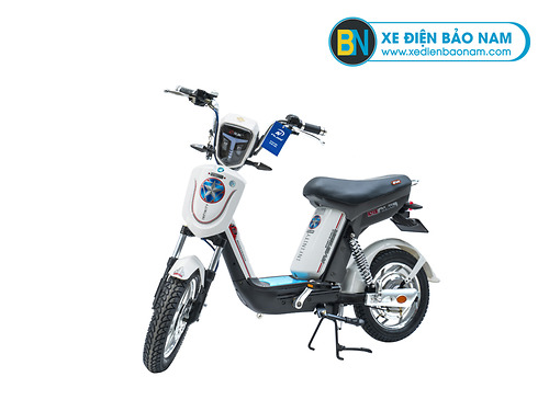 Xe đạp điện Nijia Avenger 2019 màu trắng