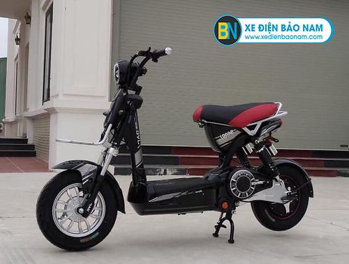 Xe đạp điện M133 S600 JVC màu đen