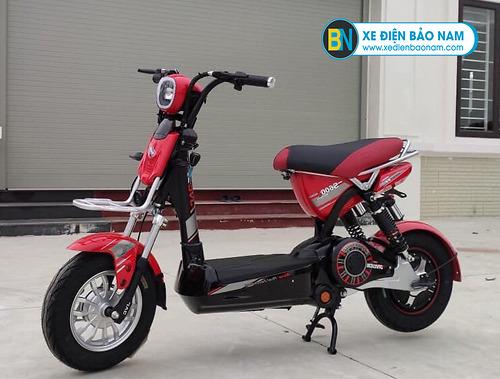 Xe đạp điện M133 S600 JVC màu đỏ