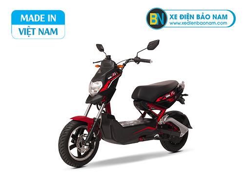 Xe điện Sym Z1 màu đỏ đen
