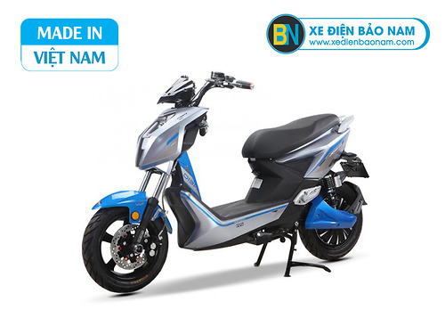 Xe máy điện Dibao Jeek New màu xanh xám
